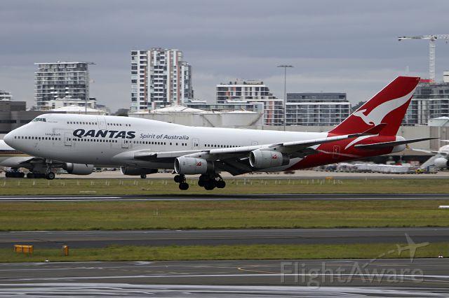 Boeing 747-400 (VH-OJT) - on 4 December 2017