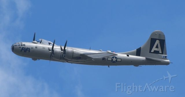 """Boeing B-29 Superfortress (N529B) - B29 """"Fifi"""" at the Airpower History Tour at IAG!"""