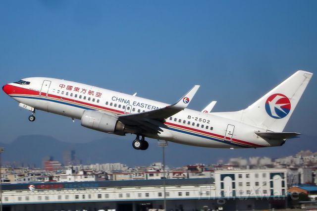 Boeing 737-700 (B-2502)