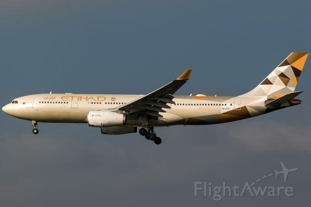 Airbus A330-300 (A6-EYF) - new colour