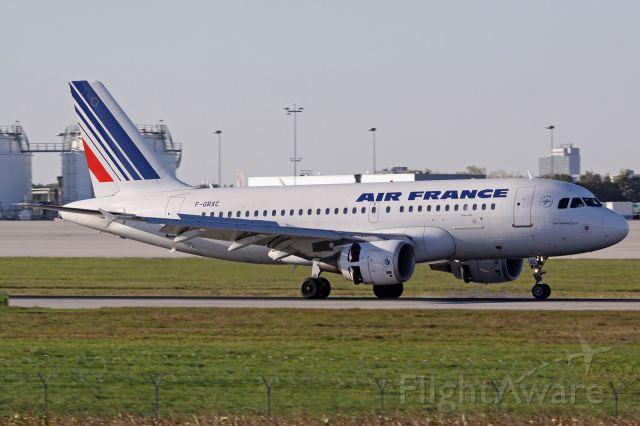 Airbus A319 (F-GRXC)