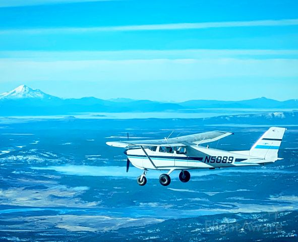 Cessna 175 Skylark (N5089) - Mount Shasta Wilderness