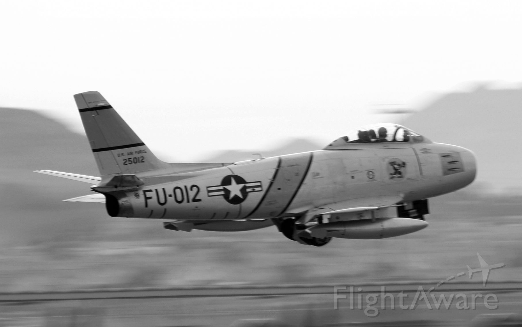 North American F-86 Sabre (FU012) - Saber Launch