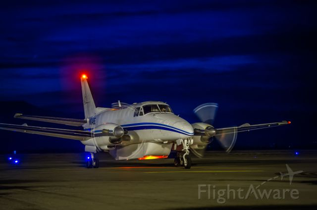 """Beechcraft Airliner (N104BE) - Ameriflight BE99 getting parked prior to loading cargo bound for the smaller towns around New Mexico. Ever wonder how UPS gets their freight to the small towns quickly? This is how. ©Bo Ryan Photography   <a rel=""""nofollow"""" href=""""http://www.facebook.com/boryanphoto"""">www.facebook.com/boryanphoto</a> To everyone who has viewed and voted, THANK YOU!"""