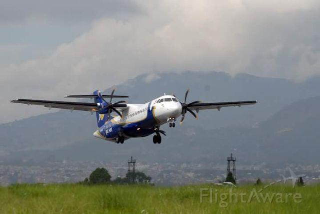 Aerospatiale ATR-72-500 (9N-AMF)