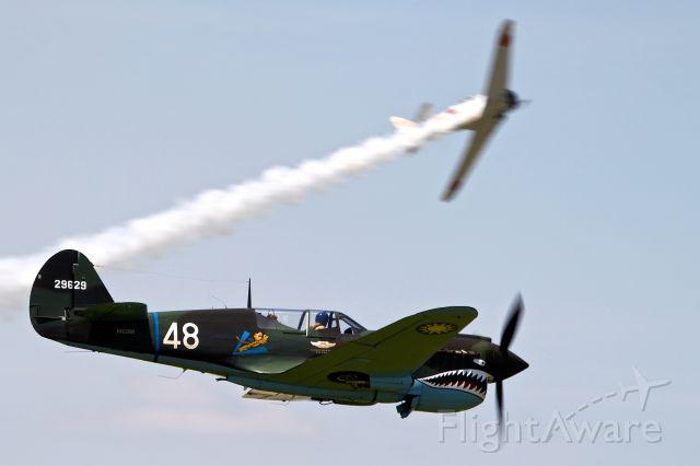 CURTISS Warhawk (N1226N) - Tora Tora Tora in the 2016 Dayton Air Show