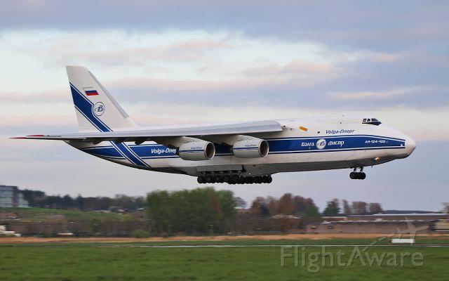Antonov An-124 Ruslan (RA-82081) - volga-dnepr an-124-100 ra-82081 about to land at shannon this evening from nantes  6/4/17.