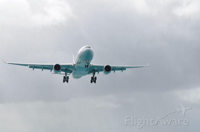 Airbus A330-300 — - Maho Beach St Maarten.