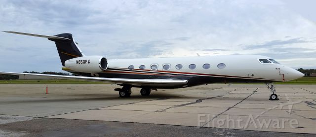 Gulfstream Aerospace Gulfstream G650 (N650FX)