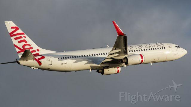— — - VOZ, B738, VYVOP, departing runway 01.