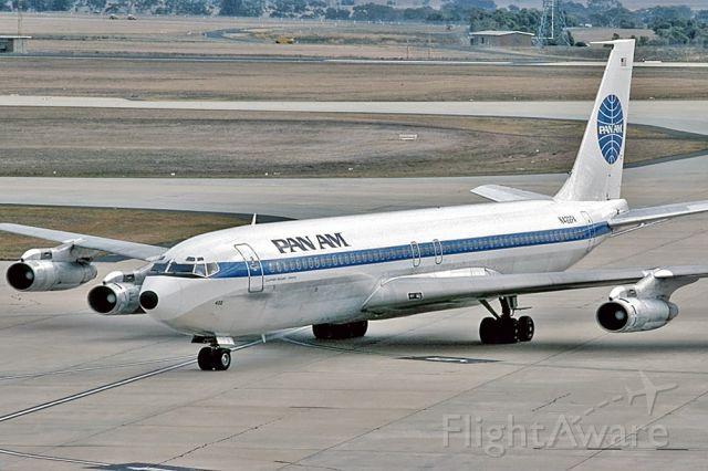 Piper PA-44 Seminole (N422PA) - PAN AM - BOEING 707-321B - REG : N422PA (CN 19275/590) - TULLAMARINE MELBOURNE VIC. AUSTRALIA. - YMML 11/4/1978 35MM SLIDE CONVERSION USING A LIGHTBOX AND A NIKON L810 DIGITAL CAMERA IN THE MACRO MODE.