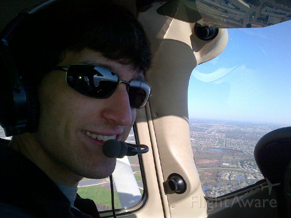 Cessna Skylane (N2144V) - My buddy Max flying 2144V over Texas.