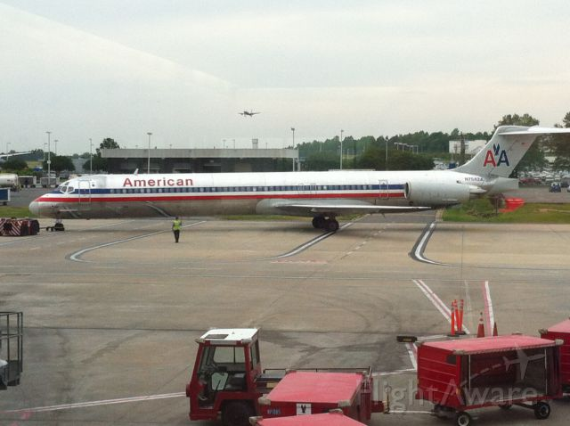 McDonnell Douglas MD-82 (N7542A) - The good old days of Mad Dogs! Taken May 2013.