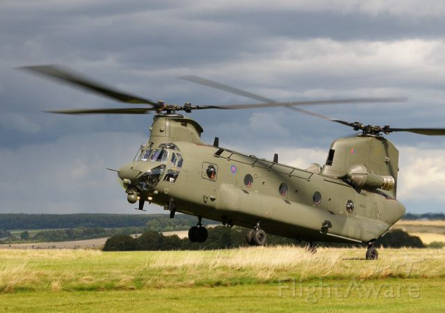 ASAP Chinook — - More of ZK552, Chinook HC6 on Salisbury Plain