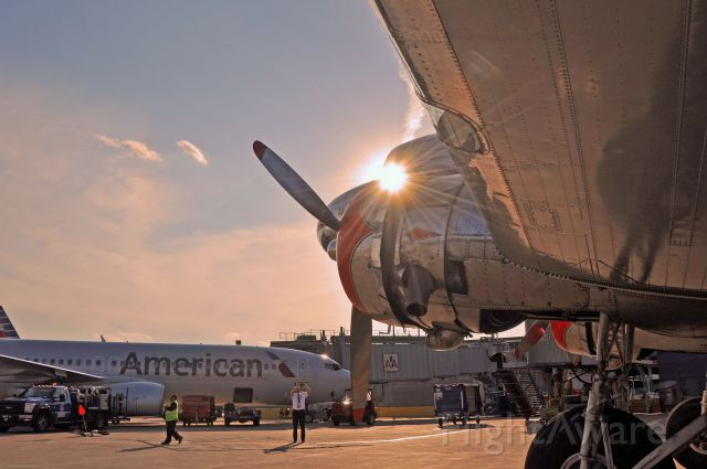 Douglas DC-3 (NC17334) - The new American, and what it was.