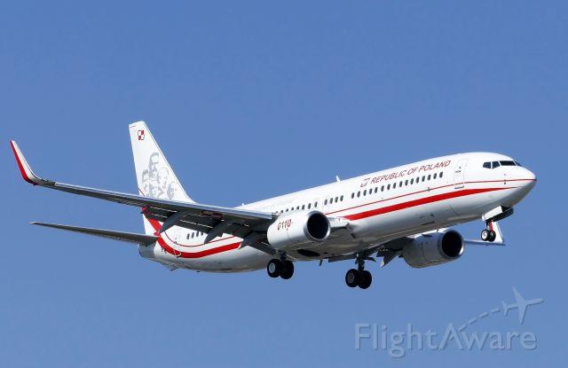 Boeing 737-800 (0110) - Photo taken on April 28, 2021