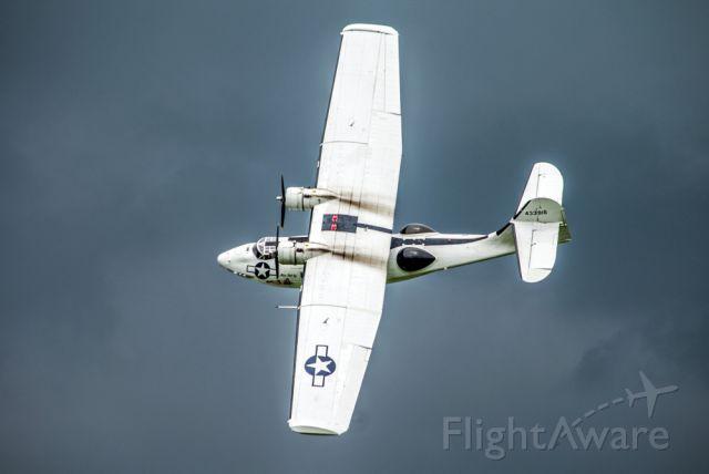de Havilland Dash 8-400 (G-PBYA) - G-PBYA Catalina at Old Warden, UK