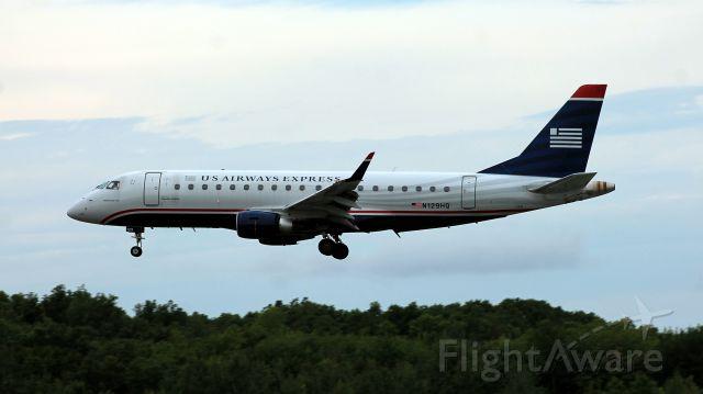 Embraer 170/175 (N129HQ) - Taken on September 2, 2013.