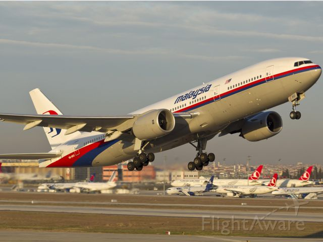 Boeing 777 (9M-MRO) - The missing MH370