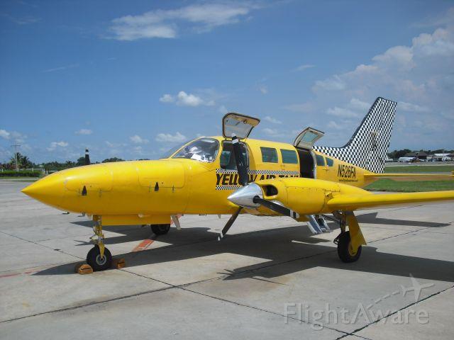 Cessna 402 (N526FA) - cargo flight