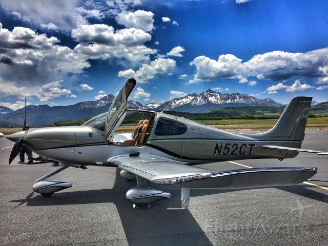 Cirrus SR-22 (N52CT) - Telluride, CO