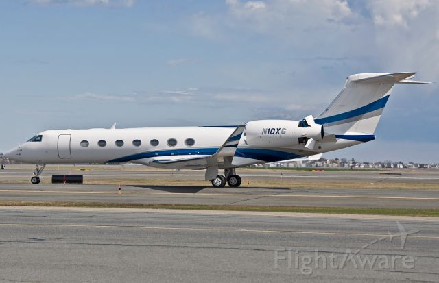 Gulfstream Aerospace Gulfstream V (N10XG) - Thrust reversers !