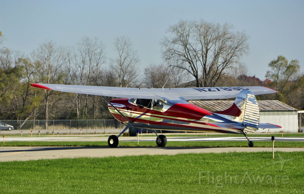 Cessna 170 (N2789C) - Ace Aviation Adventures Cessna 170B N2789C in Ann Arbor