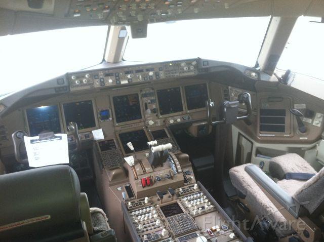 BOEING 777-300ER (N720AN) - new American Airlines 777-300ER cockpit