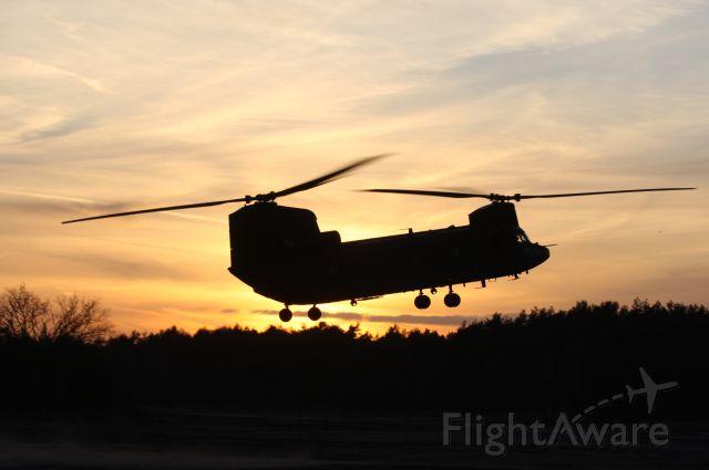 ASAP Chinook — - Dutch Chinook during evening landing
