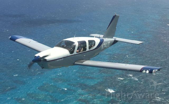 Socata TB-20 Trinidad (N74JD) - Formation flying in the Bahamas.