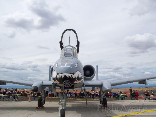 Fairchild-Republic Thunderbolt 2 — - at a airshow