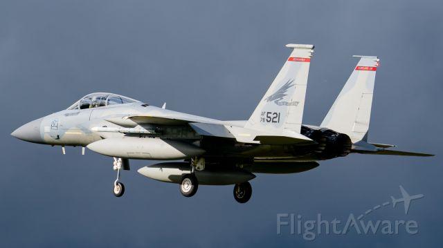 McDonnell Douglas F-15 Eagle (78-0521)