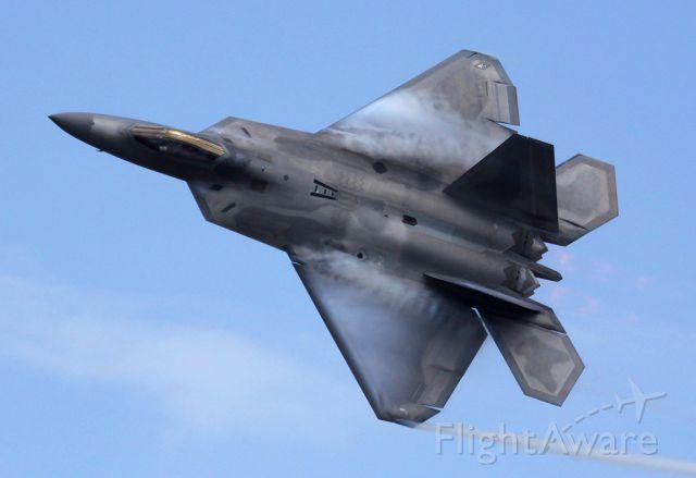 Lockheed F-22 Raptor (01-4024) - Tyndall AFB