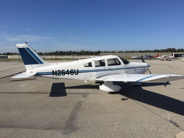 Piper Cherokee (N2546U) - A quick turn to KFUL from F70, Countrywide Flyers Club Aircraft