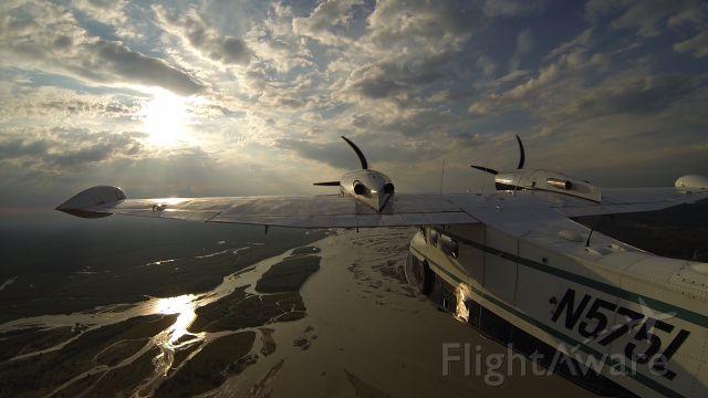 Grumman G-44 Widgeon (N575L) - Flying back in to Fairbanks for the night