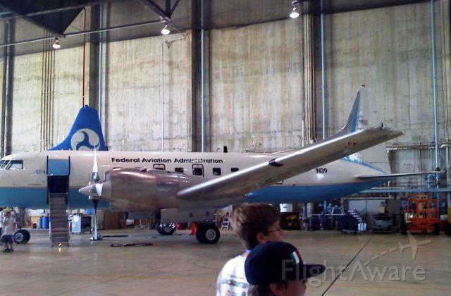 CONVAIR CV-580 (N39) - FAA Aircraft In Their William J. Hughes Technical Center Hanger