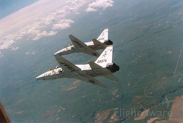 Northrop T-38 Talon (68-8395) - T-38s operating in a MOA west of KFWH