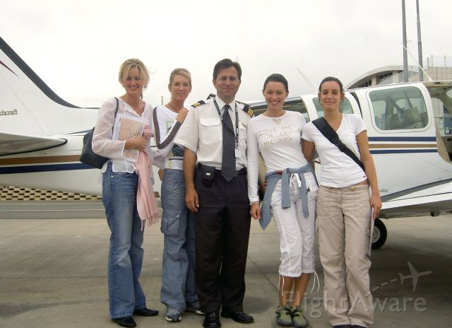 Beechcraft Baron (58) (ZS-MDJ) - One of the lighter days in the life of a charter pilot...