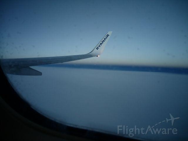 — — - Ryanair FR7328 over the skies of Ireland - 2016-01-10