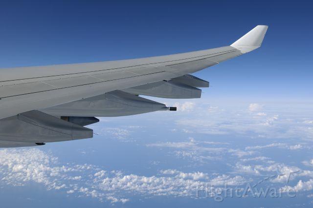 Airbus A340-600 (D-AIHO) - Lufthansa trip to Munich...