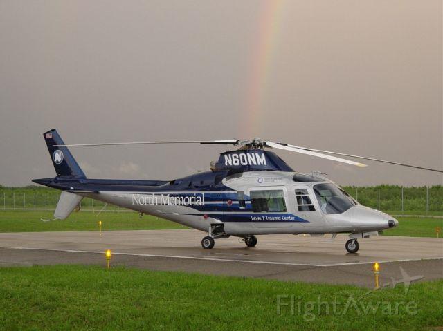 SABCA A-109 (N60NM) - Shot taken after a passing storm at KBRD