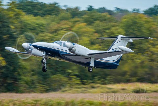 Piper Cheyenne 400 (N411BG) - Piper Cheyenne 400 N411BG,  taking off from Wings Field (KLOM)