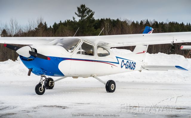 Cessna Cardinal (C-GAQS) - C-GAQS at Mont-Laurier airport
