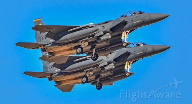 McDonnell Douglas F-15 Eagle (88-1688) - 88-1688 89-0471 - Las Vegas - Nellis AFB (LSV / KLSV)br /USA - Nevada, April 19, 2017br /Photo: TDelCoro