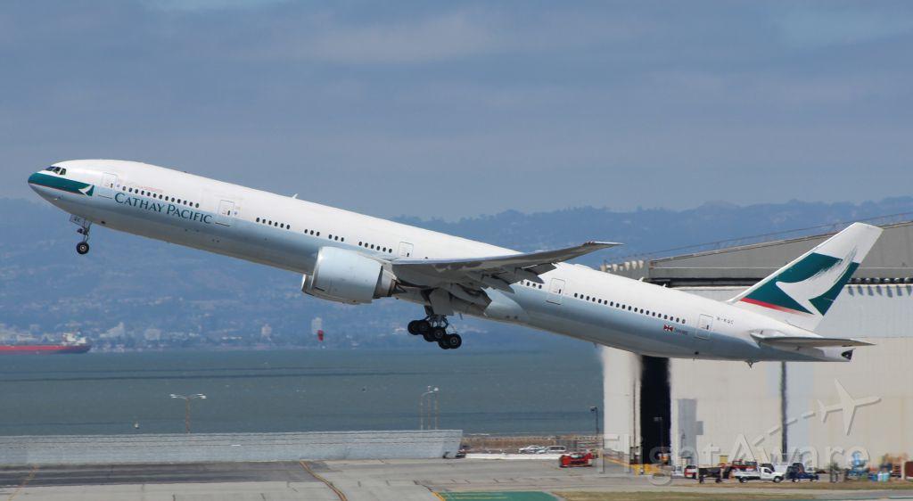 Boeing 777 (B-KQC) - 5-25-16