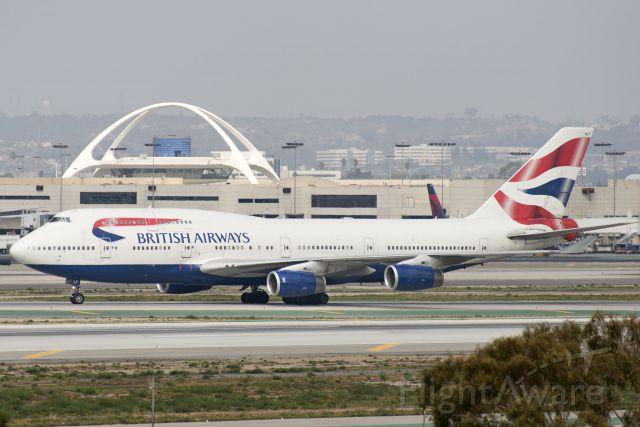 Boeing 747-400 (G-BNLF) - G-BNLF  Boeing  B747-436  BAW  KLAX  20130305