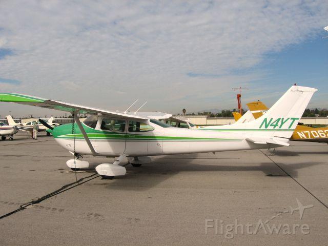 Cessna Skylane RG (N4YT) - Parked at Fullerton