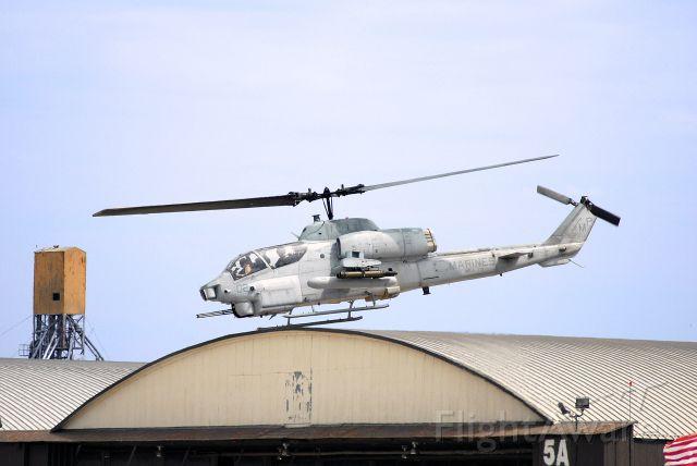— — - AH-1W taking off at the Kansas City Air Show 2008.