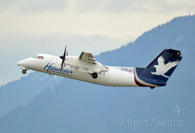 de Havilland Dash 8-100 (C-FCJE) - Hawkair