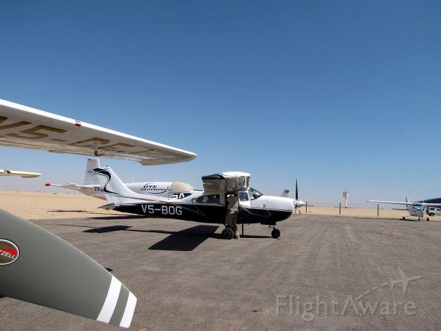 Cessna Centurion (V5-BOG) - At Swakopmund airport, Namibia